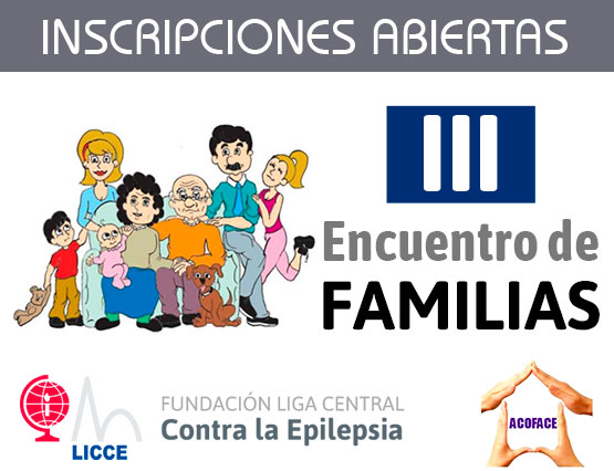 Inscripción de tercer encuentro familias. Epilepsia y otros problemas neurológicos