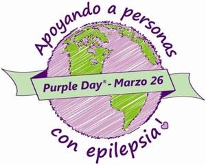 Día púrpura - Apoyando a personas con epilepsia
